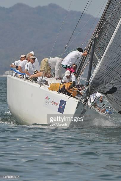 Farr Out sailing in Copa Mexico 2012 MEXORC regatta on Banderas Bay Mexico