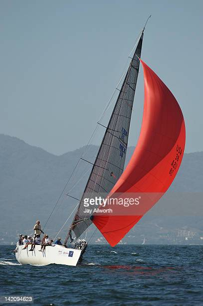 Farr Out sails toward the reach mark during the Copa Mexico 2012 MEXORC Govenors Cup Regatta on Banderas Bay Bahia de Banderas Mexico