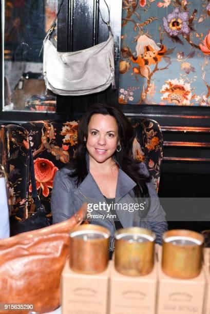 Farra Abrahamson attends Leesa Rowland's Animal Ashram PopUp Penthouse on February 7 2018 in New York City
