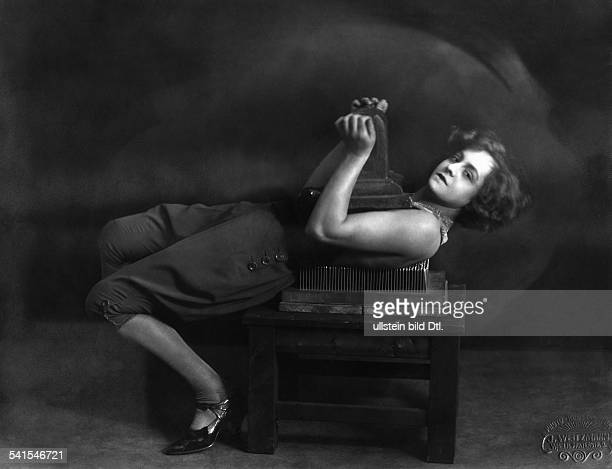Farra Martha Vaudeville artist acrobat Austriaallegedly under hypnosis by Hanussen on a Fakir nail bed Photographer J Weitzmann Published by...