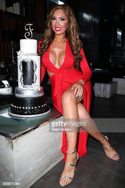 Farrah Abraham attends Farrah Abraham's 25th Birthday Celebration on May 21 2016 in Miami Florida