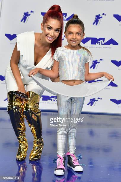 Farrah Abraham attends the 2017 MTV Video Music Awards at The Forum on August 27 2017 in Inglewood California