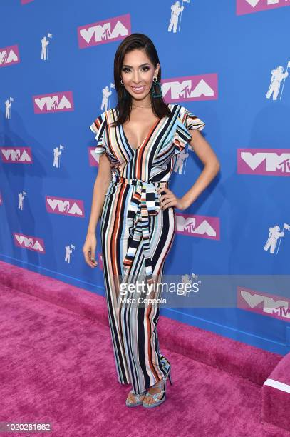 Farrah Abraham attends the 2018 MTV Video Music Awards at Radio City Music Hall on August 20 2018 in New York City