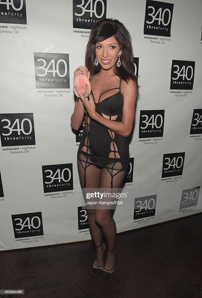 Farrah Abraham Attends The Launch Party For Her New Intimate Line At News Photo - Getty Images-7919