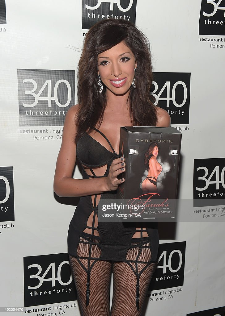 Farrah Abraham Attends The Launch Party For Her New Intimate Line At News Photo - Getty Images-4824