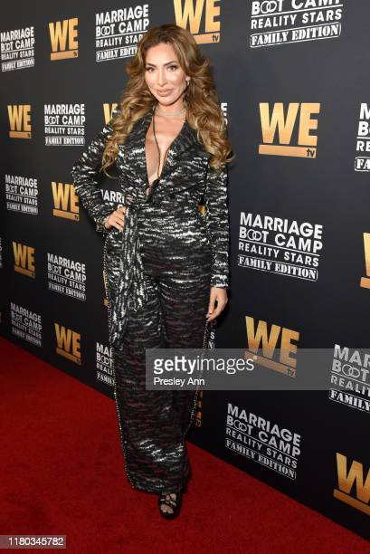 Farrah Abraham attends WE tv Celebrates the 100th episode of the Marriage Boot Camp reality stars franchise and the premiere of Marriage Boot Camp...