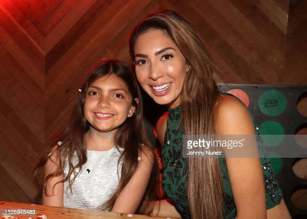 Farrah Abraham celebrates daughter Sophia's 10th birthday on February 19 2019 at Clinton Hall in New York City