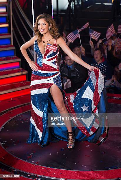Farrah Abraham enters the Celebrity Big Brother house at Elstree Studios on August 27, 2015 in Borehamwood, England.