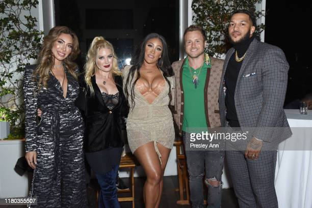 Farrah Abraham Heidi Montag Natalie Nunn Spencer Pratt and Jacob Payne attend WE tv Celebrates The 100th Episode Of The Marriage Boot Camp Reality...