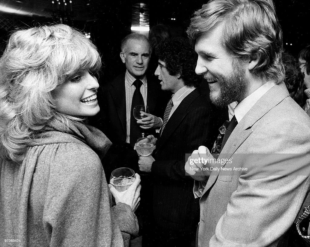 Farrah Fawcett and and Jeff Bridges at party for Faberge. Pictures ...