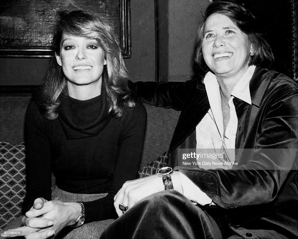 Farrah Fawcett and Liz Smith celebrate Farrah\'s birthday. Pictures ...