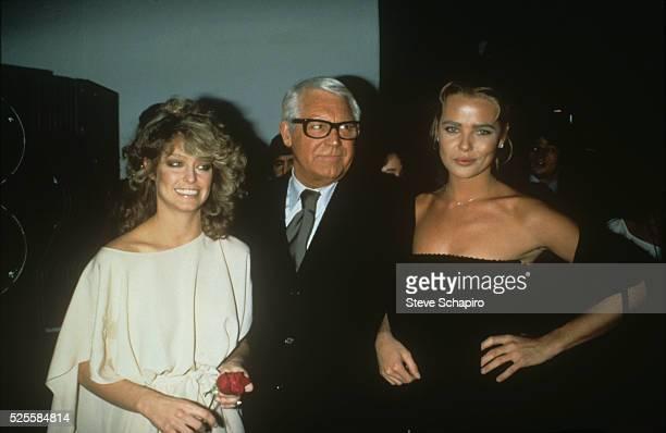 Farrah Fawcett Cary Grant and Mariel Hemingway