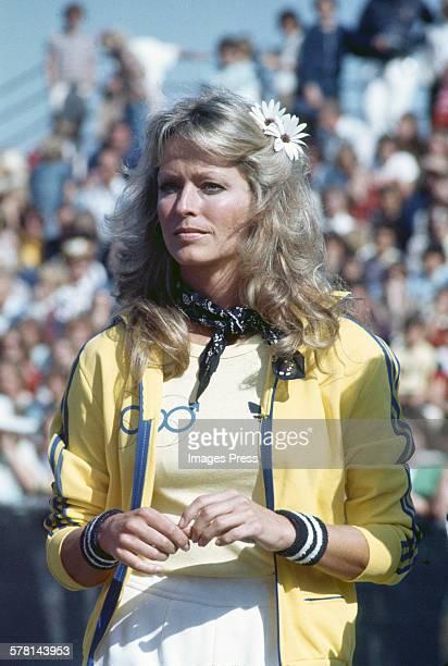 Farrah Fawcett circa 1977