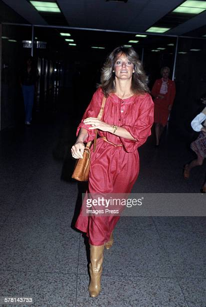 Farrah Fawcett circa 1978 in New York City