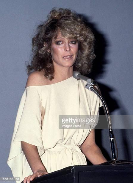 Farrah Fawcett circa 1978 in New York City