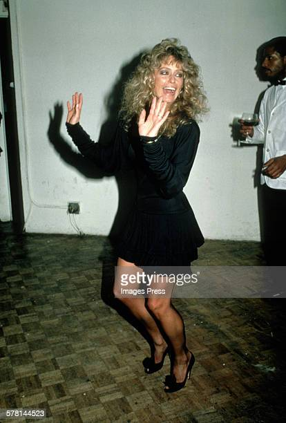 Farrah Fawcett circa 1981 in New York City