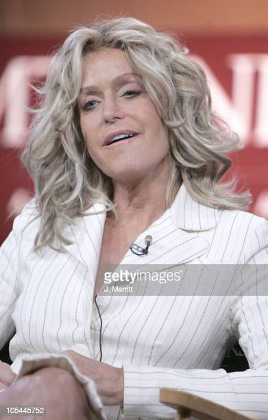Farrah Fawcett during MTV TCA Day Presentation at Universal Hilton Hotel in Universal City California United States