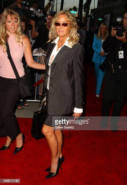 Farrah Fawcett during 'The Manchurian Candidate' Los Angeles Premiere at The Academy in Beverly Hills California United States