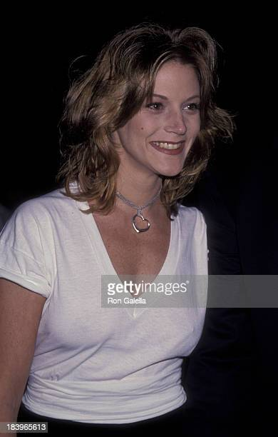 Farrah Forke attends David Copperfield Benefit Performance for Starlight Foundation on November 10 1993 at the Wiltern Theater in Los Angeles...