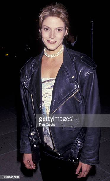 Farrah Forke attends NBC TV AllStar Winter Press Tour on January 8 1994 at the Huntington Ritz Carlton Hotel in Pasadena California