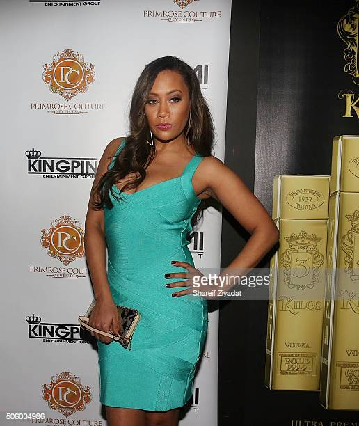 Farrah Franklin attends Mimi Faust Birthday Party on January 20 2016 in New York City