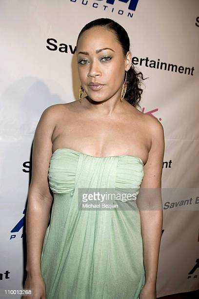 Farrah Franklin during Reggie Bush Hosts the Grand Opening of Rock Star at Trifecta Lounge at Trifecta Lounge in Los Angeles California United States