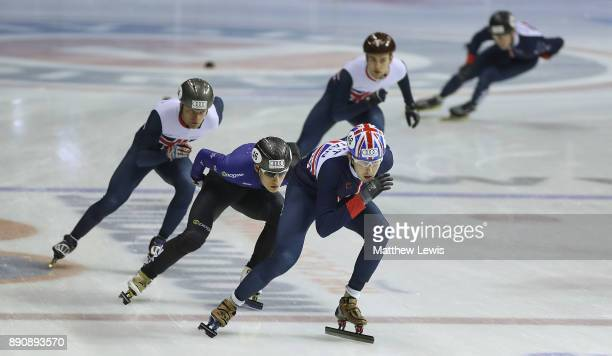 Farrell Treacy of Great Britain pictured during a media day for the Athletes Named in the GB Short Track Speed Skating Team for the PyeongChang 2018...