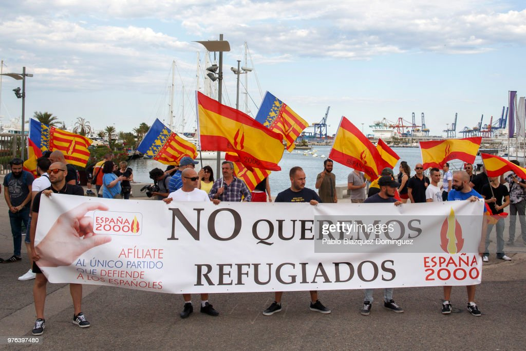 Image result for protests valencia aquarius