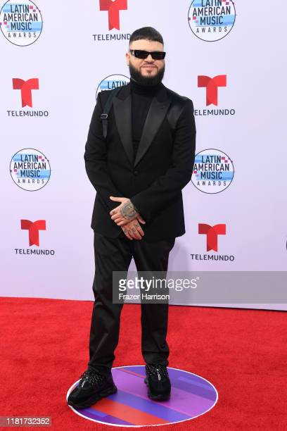 Farruko attends the 2019 Latin American Music Awards at Dolby Theatre on October 17 2019 in Hollywood California