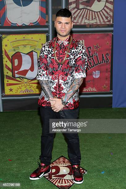 Farruko attends the Premios Juventud 2014 at The BankUnited Center on July 17 2014 in Coral Gables Florida