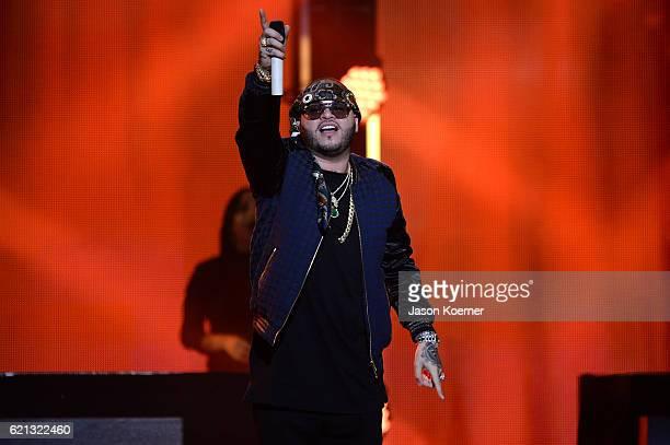 Farruko performs at iHeartRadio Fiesta Latina at American Airlines Arena on November 5 2016 in Miami Florida