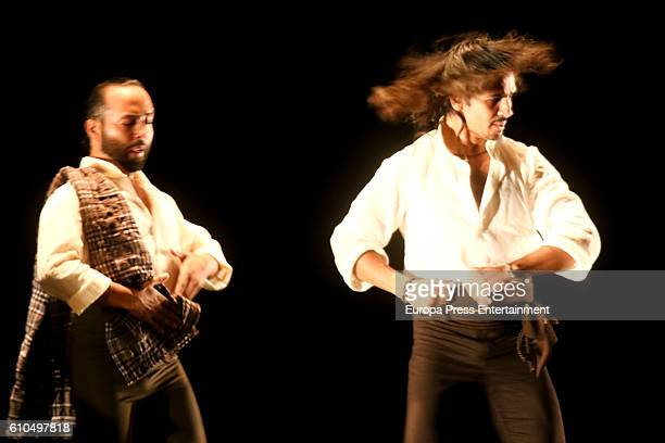 Farruquito performs 'Baile Moreno' during Flamenco Bienal on September 24 2016 in Seville Spain