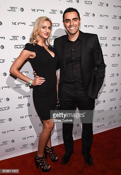 Farshad Farahat attends the 'the bomb ' premiere during the 2016 Tribeca Film Festival at Gotham Hall on April 23 2016 in New York City