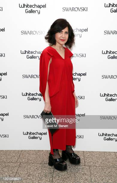Farshid Moussavi attends a glamorous gala dinner as Francis Alys is celebrated as Whitechapel Gallery Art Icon with Swarovski on January 21 2020 in...