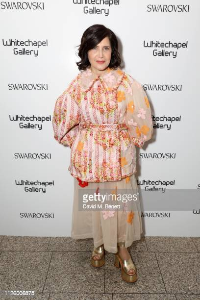 Farshid Moussavi attends a glamorous gala dinner at Whitechapel Gallery as Rachel Whiteread is celebrated as the recipient of the Whitechapel Gallery...