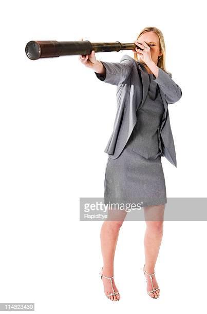 Prévoyante Femme d'affaires