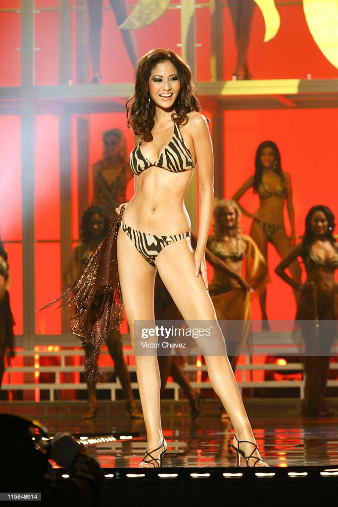 Farung Yuthithum, Miss Universe Thailand 2007 during Miss Universe 2007 - Show at Auditorio Nacional in Mexico City, Mexico City, Mexico.
