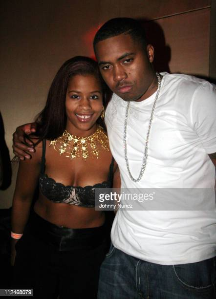 Faryka Sister and Nas during Kelis Hosts Birthday Party for Damon Peruzzi of Lotus - March 13, 2006 at Lotus in New York, New York, United States.