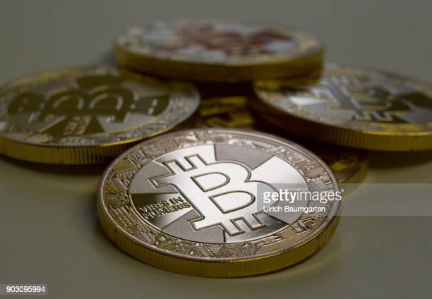 Fascination Bitcoin symbol photo on the topic crypto currency Bitcoin The picture shows Bitcoin