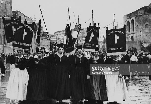 Fascist Women Movement In Italy