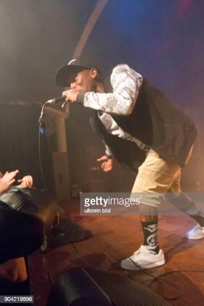 Fashawn eigentlich Name Santiago Leyva auch als The Phenom bekannt der amerikanische Rapper bei einem Konzert im Hamburger Mojo Club Photo by Jazz...