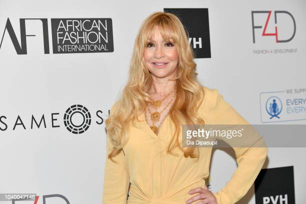 Nadja Swarovski attends Fashion 4 Development's 8th Annual Official First Ladies Luncheon at The Pierre Hotel on September 25 2018 in New York City
