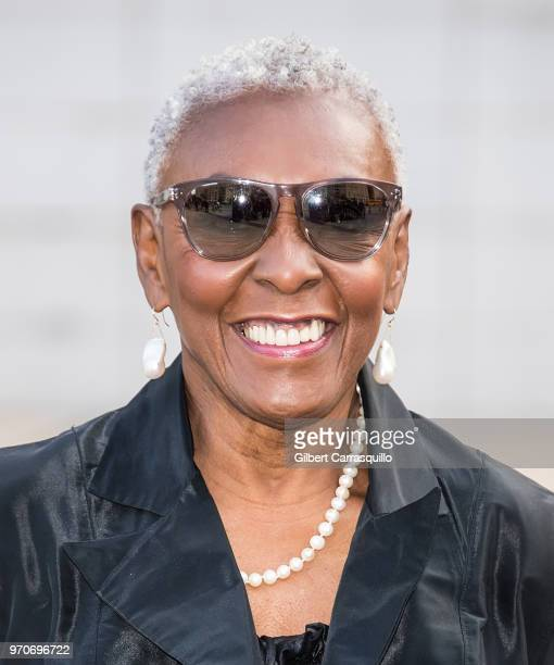 Fashion activist and model Bethann Hardison is seen arriving to the 2018 CFDA Fashion Awards at Brooklyn Museum on June 4 2018 in New York City