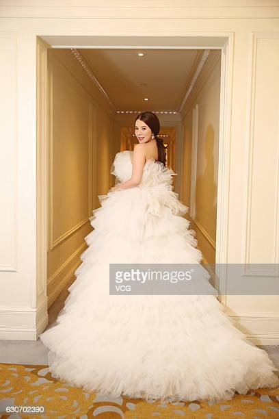 Fashion and technology investor Wendy Yu attends the 62nd International Debutante Ball at the Grand Ballroom of the Pierre Hotel on December 29 2016...