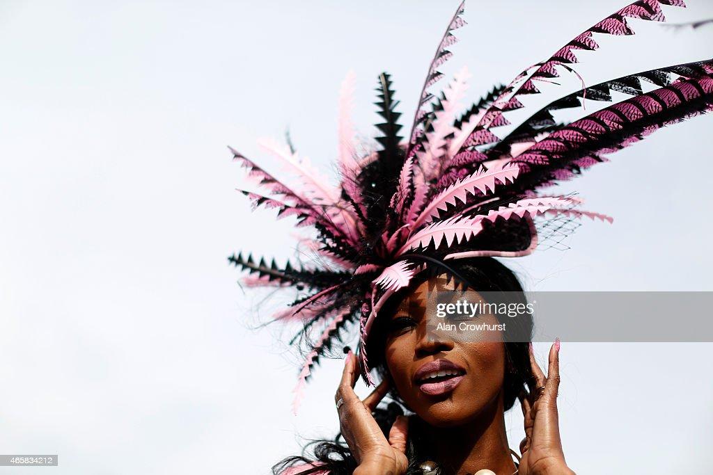 Cheltenham Festival - Ladies Day : News Photo