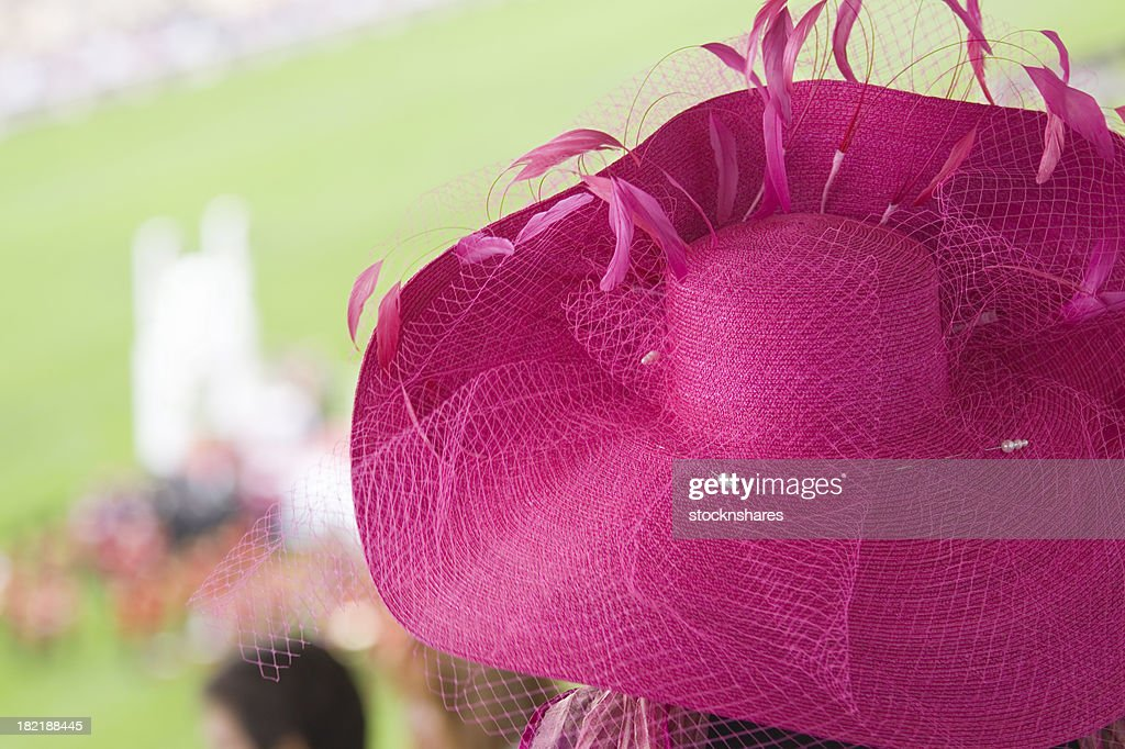 Fashion at the Races : Stock Photo