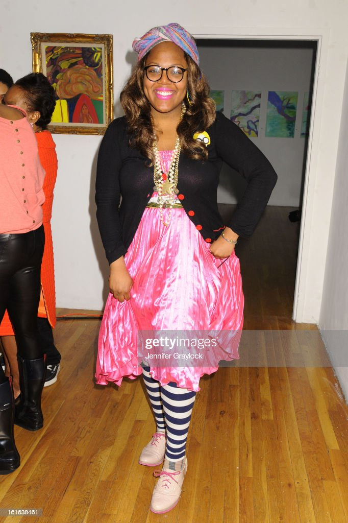 Fashion Beauty Blogger Julissa Escobosa from Style Celeb attends the Diego Binetti Fall 2013 Mercedes-Benz Fashion Presentation held at Westbeth Gallery on February 13, 2013 in New York City.