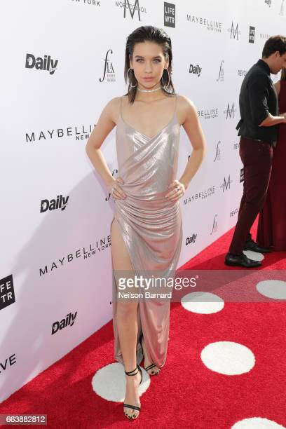 Fashion blogger Amanda Steele attends the Daily Front Row's 3rd Annual Fashion Los Angeles Awards at Sunset Tower Hotel on April 2 2017 in West...
