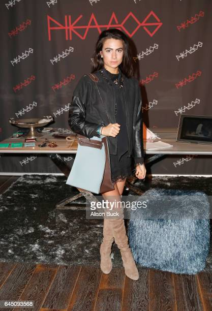 Fashion blogger Amy Marietta attends Kari Feinstein's PreOscar Style Lounge at the Andaz Hotel on February 24 2017 in Los Angeles California