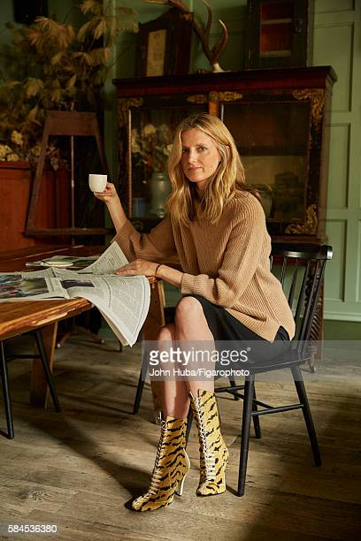 Fashion blogger and author Amanda Brooks is photographed for Madame Figaro on July 15 2015 in New York City All PUBLISHED IMAGE CREDIT MUST READ John...